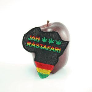 Ecusson Rasta Afrique