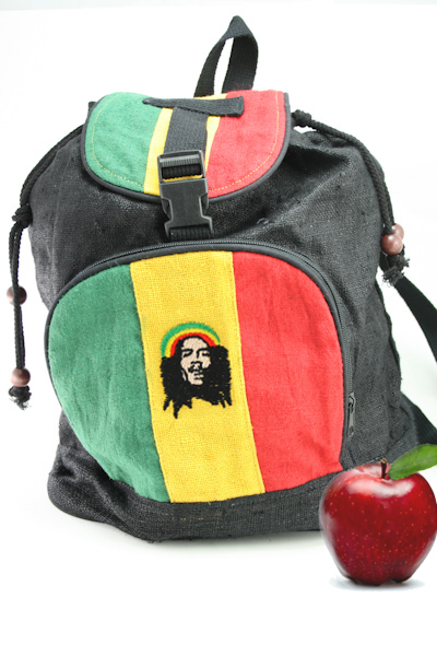 Sac à Dos Bob Marley Chanvre Naturel