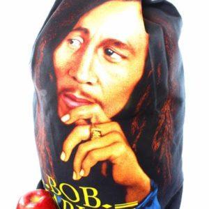 Sac à Dos Zip Noir Portrait Bob Marley