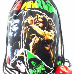 Bob Marley en Concert Imprimé sur Sac à Dos Tissu Coton Pliable Pratique