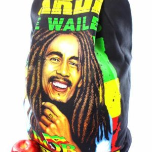 Sac à Dos Bob Marley and The Wailers Positive Vibration Zip Caché