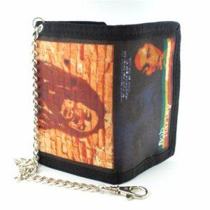 Portefeuille avec chaîne Antivol Bob Marley Double Face