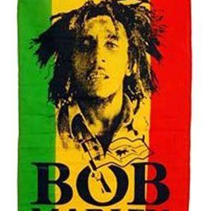 Drapeau Bob Marley Portrait