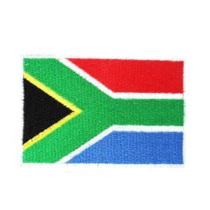 Ecusson à Coudre et Colle Thermique Drapeau Afrique du Sud