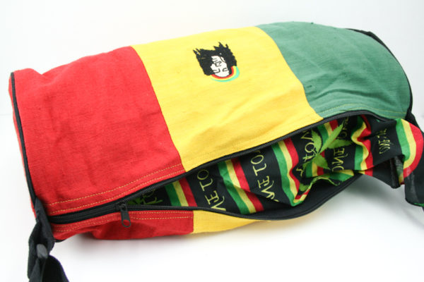 Sac de Sport Tubulaire le Plus Grand Chanvre Bob Marley
