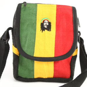 Sacoche Style Lacoste Bandoulière Bob Marley