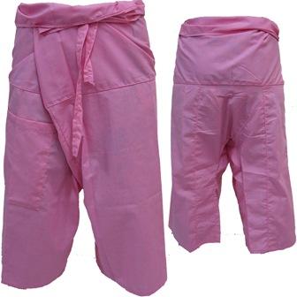 Pantalon Pêcheur Thaïlandais Rose