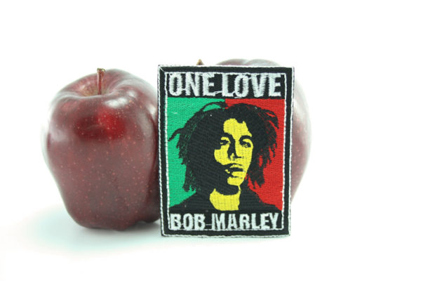 Ecusson Portrait Bob Marley One Love