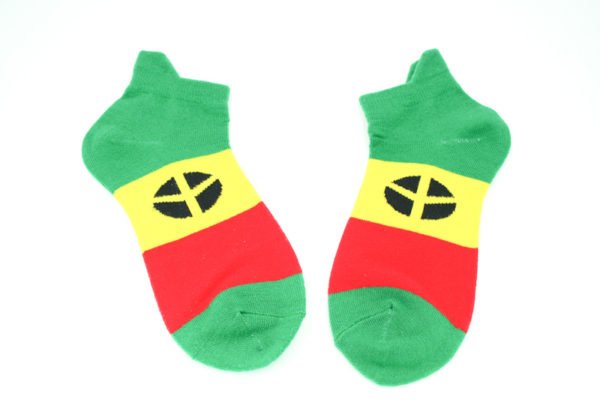 Chaussettes Vertes Peace and Love Homme Femme