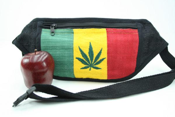 Sac Banane Fin Feuille Cannabis