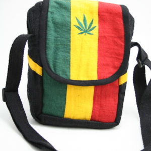 Sacoche Style Lacoste Cannabis Chanvre Naturel