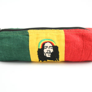 Trousse à stylo Zip Chanvre Naturel Bob Marley