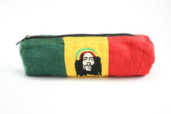Trousse à stylo Zip Chanvre Naturel Bob Marley