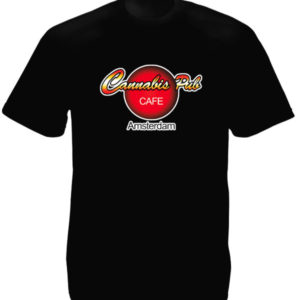 TEE-SHIRT HARD ROCK CAFE CANNABIS PUB NOIR