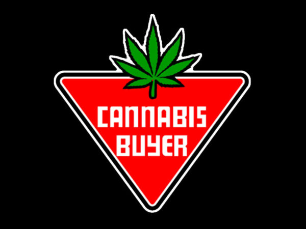 TEE-SHIRT FRAISE CANNABIS BUYER NOIR