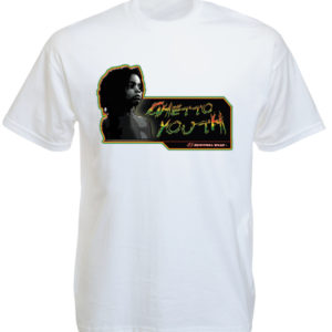 TEE-SHIRT RASTA GHETTO YOUTH BLANC