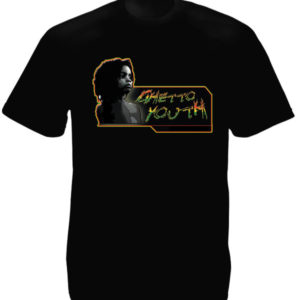 TEE-SHIRT RASTA GHETTO YOUTH NOIR
