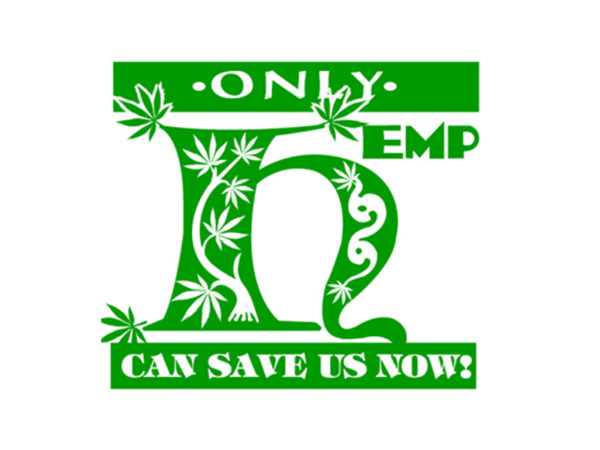 TEE-SHIRT HEMP CAN SAVE US BLANC