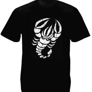TEE-SHIRT SCORPION NOIR
