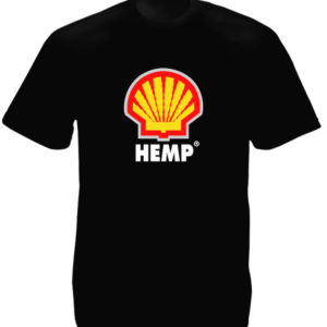 TEE-SHIRT SHELL HEMP NOIR